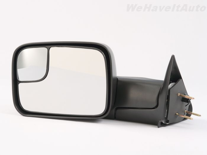 Dodge Ram Manual Driver LH DS Camper Tow Towing Side View Mirror Fold