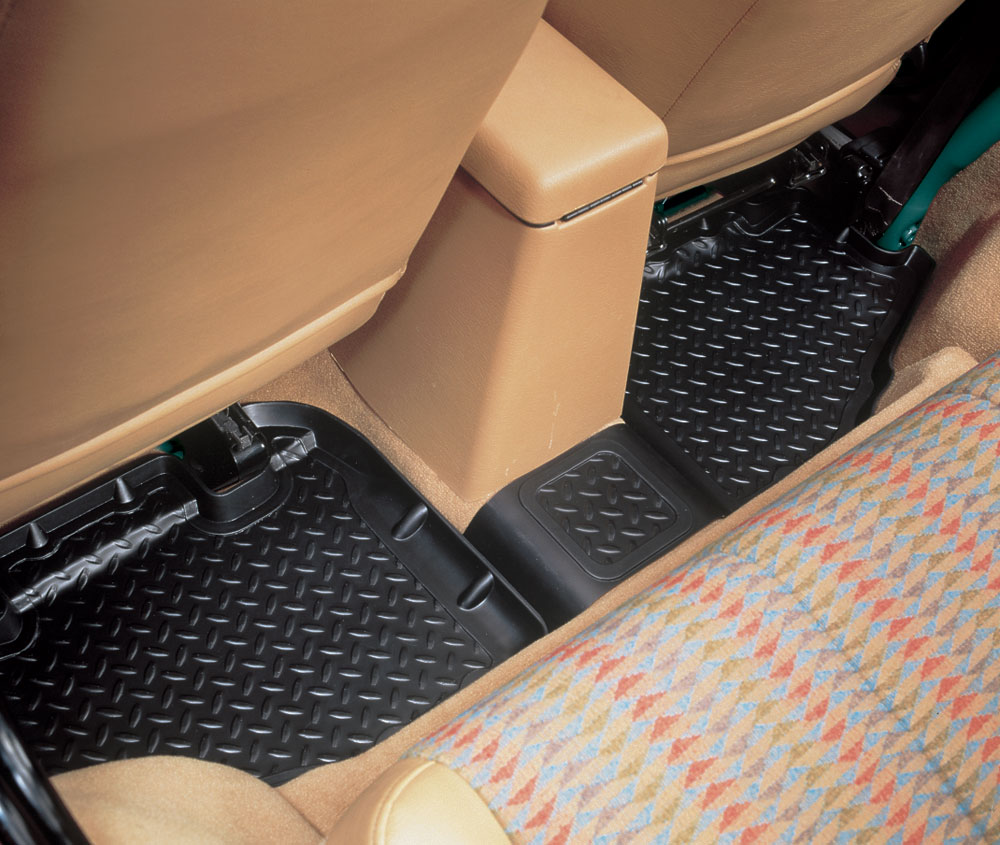 Husky Liner 61731 Black Rear Floor Molded Custom Mat | eBay