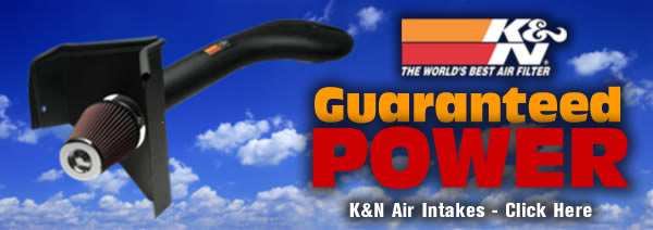 K&N Air Intakes - Guaranteed Power - K&N The World's Best Air Filter