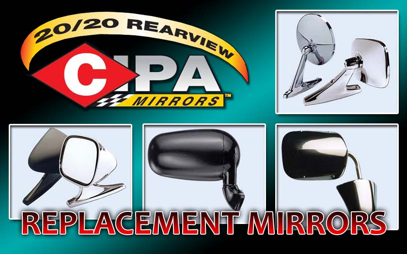 CIPA Side Door Mirrors