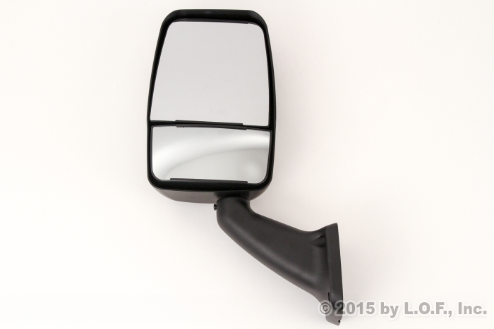 Rv Side Mirrors : Rv class a motorhome mirror driver left manual black side
