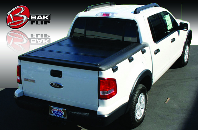 """Bakflip F1 Tonneau Bed Cover 06 13 Ford Sports Trac Crew Cab Short Bed 4'3"""""""