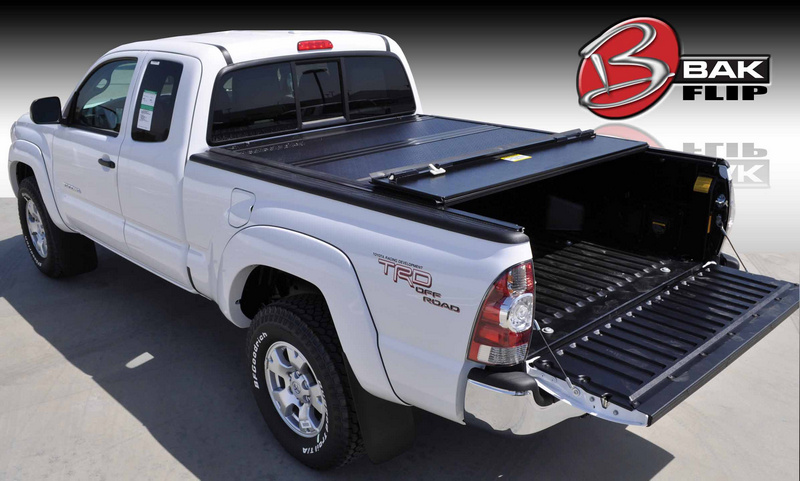 """Bakflip HD Tonneau Bed Cover 05 12 Toyota Tacoma Double Cab Short Bed 5'4"""""""