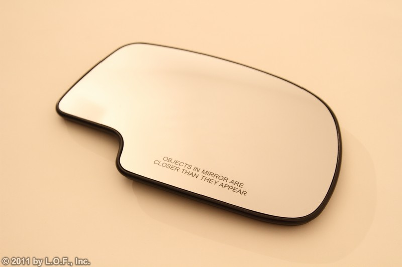 PS Right RH Heated Mirror Side Glass Chevy GMC Truck GM SUV