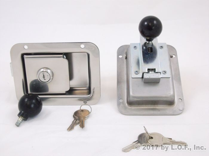Innovative Replacement RV Entry Door Latch Kit For Lippert Components RV Doors