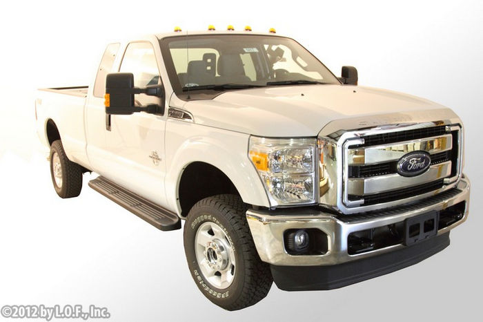 ford f250 superduty crew cab factory style running side step boards rails ebay. Black Bedroom Furniture Sets. Home Design Ideas
