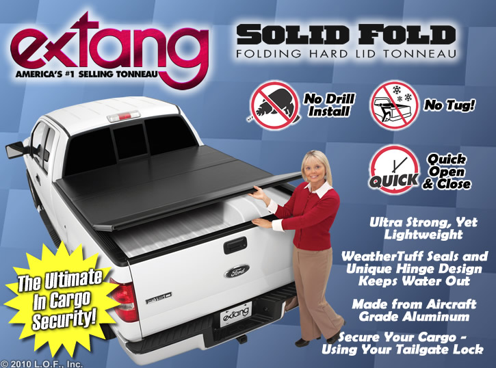 Extang Solid Fold Hard Tonneau Truck Bed Cover NEW 60in