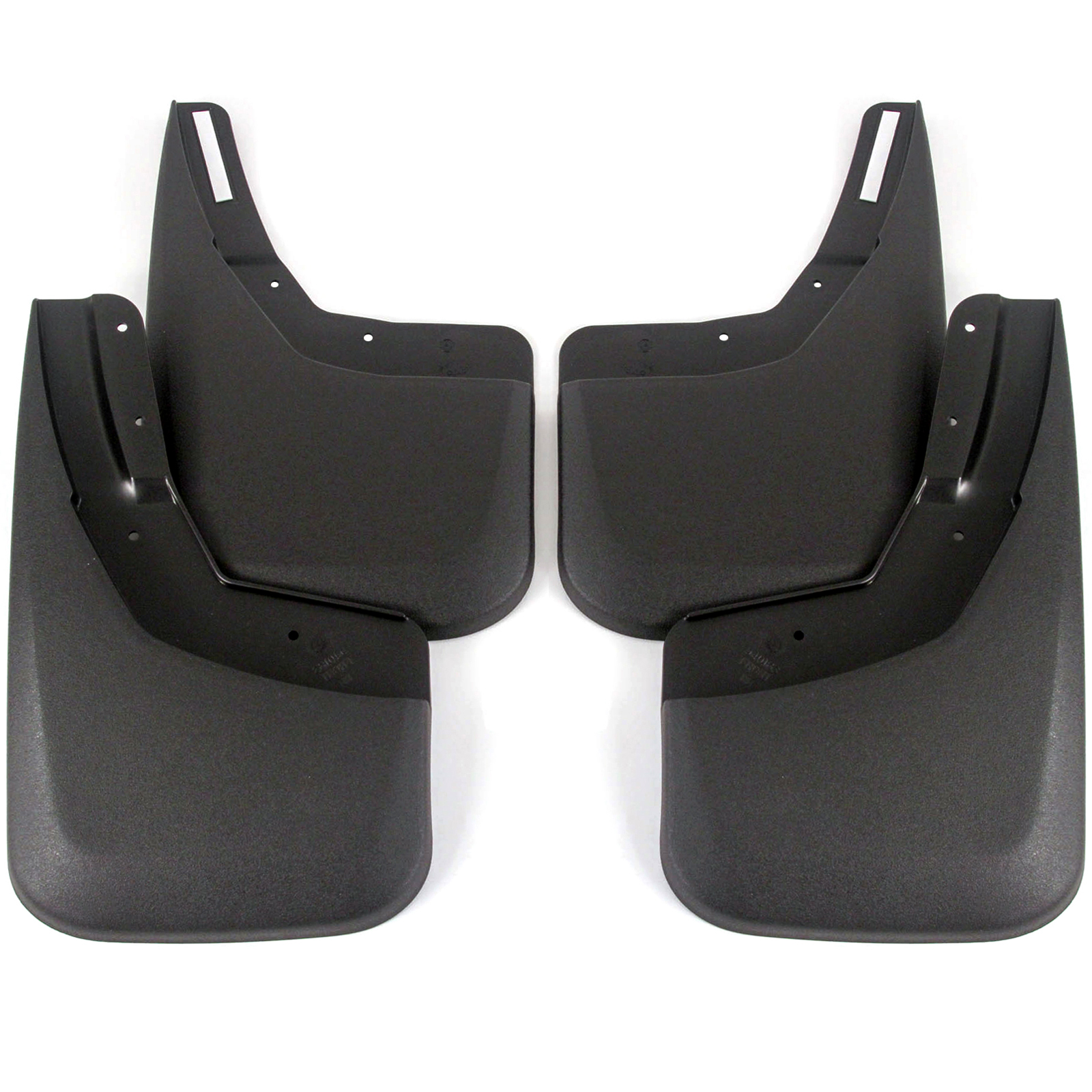 56881 Husky CUSTOM Mud Guards Chevrolet Silverado 2014-2018 Front Pair