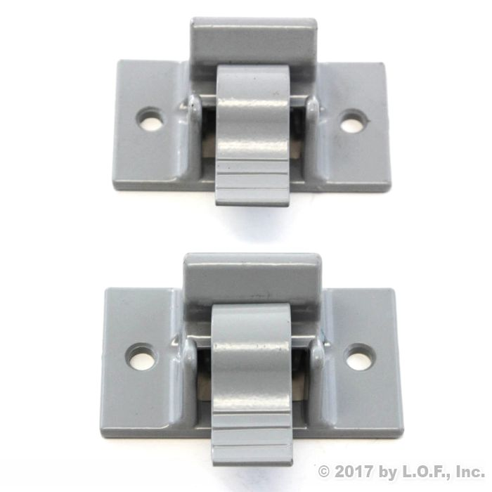 2 Lower Mounting Brackets For Awning Arm Bottom