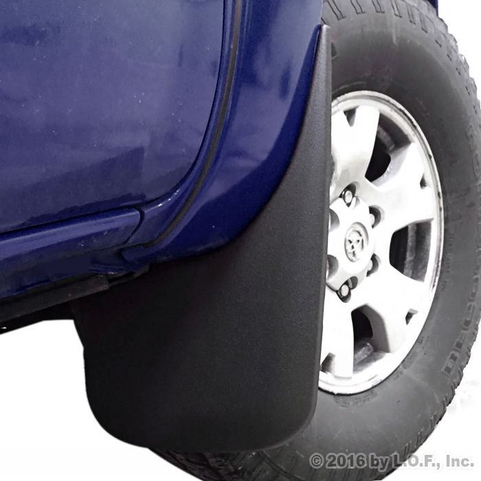 fits Tacoma Mud Flaps 2005-2015 Mud Guards Splash Guards Molded 2 Piece Front