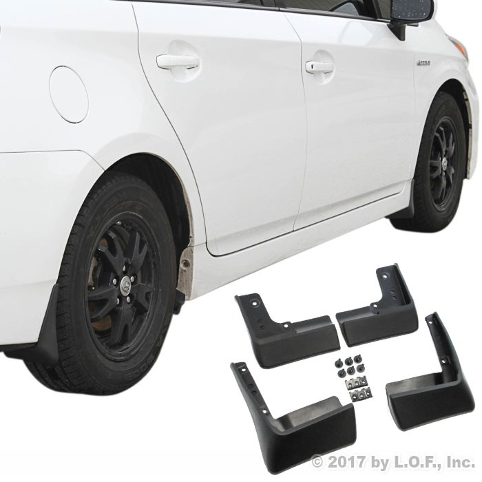 A-Premium Splash Guard Mud Flaps Replacement for Volkswagen GTI 2015-2017 Hatchback Front and Rear 4-PC Set