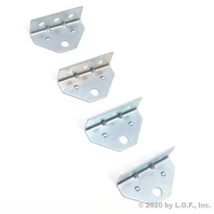 10 Boat Trailer Top Angle Galvanized Swivel Top Angle Bracket for Bunk Brackets