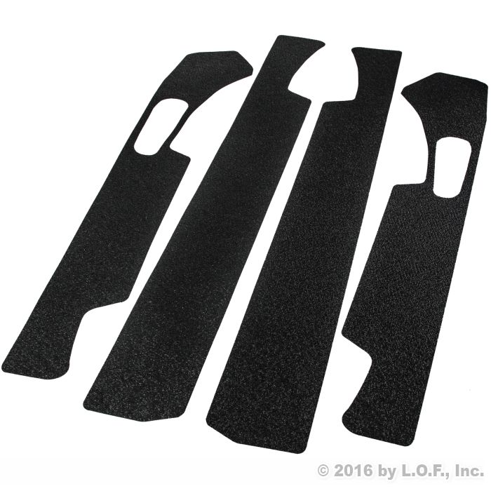 Custom Fit 2015-2018 Ford F-150 Crew Cab 4Pc Kit Door Entry Guards Scratch...