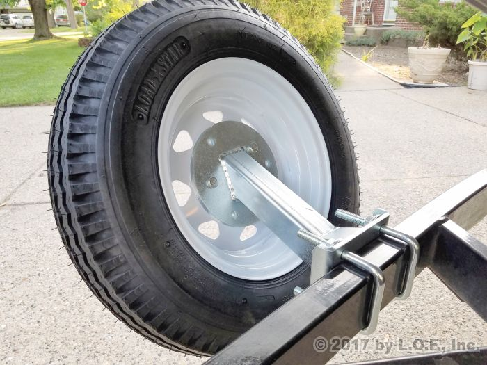 High Mount Spare Tire Carrier Boat Trailer Utility Cargo ...